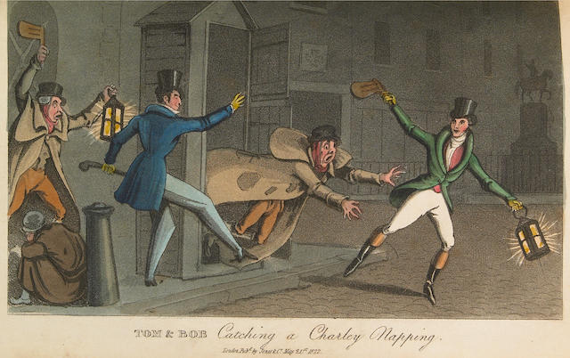 [EGAN, PIERCE, (IMITATOR)] Real Life in London.... London: Printed for Jones & Co., 1821-2.<BR />