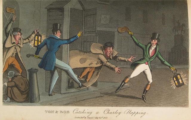 [EGAN, PIERCE, (IMITATOR)] Real Life in London.... London: Printed for Jones & Co., 1821-2.<BR />