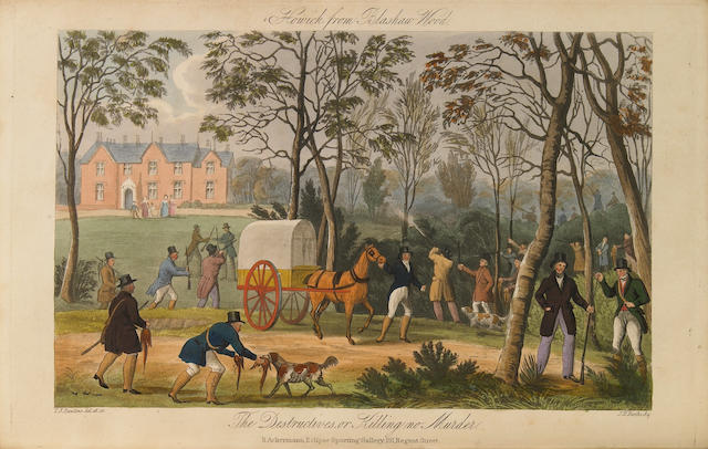 RAWSTORNE, LAWRENCE. Gamonia: or, The Art of Preserving Game; and an Improved Method of Making Plantations and Covers. London: Rudolph Ackermann, 1837.<BR />
