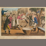 [ROWLANDSON, THOMAS. (IMITATOR)] The Adventures of Doctor Comicus ... By a Modern Syntax. London: Printed for B. Blake, [1815].