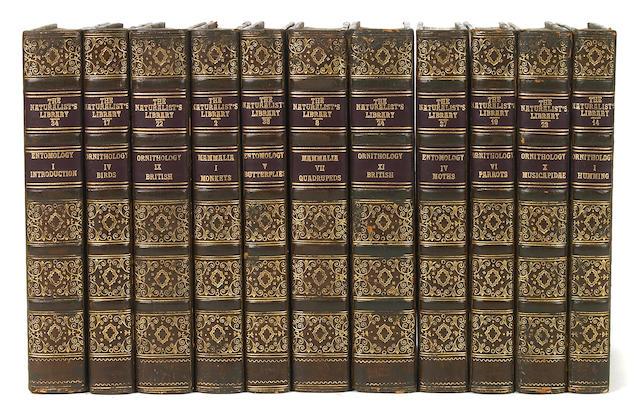 JARDINE, WILLIAM. 1800-1874. The Naturalist's Library. Edinburgh: W.H. Lizars, 1833-43.