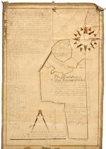 2 manuscript maps of NY by Samuel Willis. 1759 and 1772.
