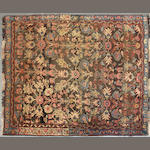 A Bidjar rug size approximately 4ft. 9in. x 5ft. 5in.