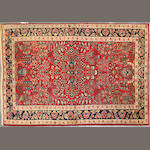A Sarouk rug size approximately 3ft. 5in. x 5ft. 2in.