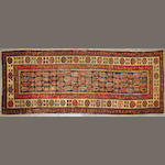 A Talish runner  size approximately 3ft. 1in. x 10ft. 2in.