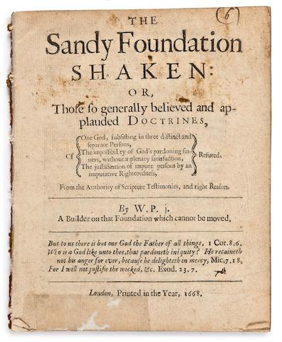 PENN, WILLIAM The Sandy Foundation Shaken