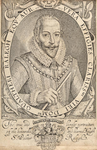 [RALEIGH, SIR WALTER. c.1554-1618.] A Declaration of the Demeanor and Cariage of Sir Walter Raleigh...And of the true motives and inducements which occasioned His Majestie to Proceed in doing Justice upon him, as hath bene done. London: Printed by Bonham Norton and John Bill, 1618.<BR />