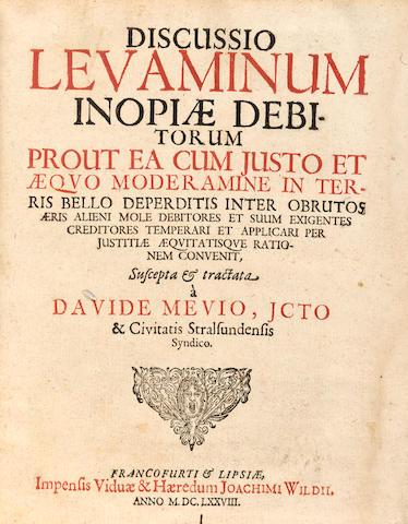 BEER. [Schoppfer, Theodosius.] Tractatum succinctum de braxandi eideque annexis juribus