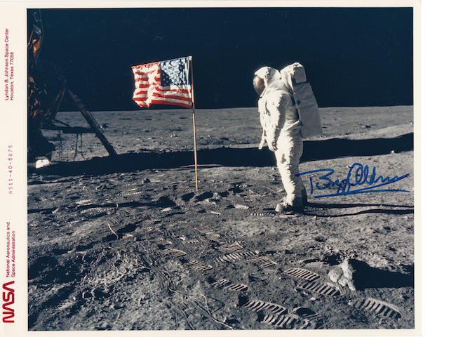 OLD GLORY – STARS AND STRIPES ON THE MOON