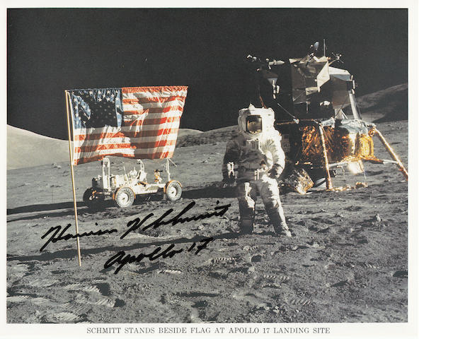 LAST MAN ON THE MOON – CERNAN SALUTES THE LAST STARS AND STRIPES