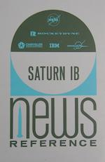 "SATURN 1B NEW REFERENCE - SIGNED BY EVERY ""1B"" COMMANDER"