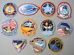EXCEPTIONAL QUAILITY SPACE SHUTTLE ERA CREW MISSION EMBLEMS AND MORE