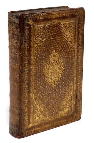 BOLZANI, PIERO VALERIANO. 1477-1558. Les Hieroglyphiques ... Nouvellement Donnez aux Francois par J. de Montlyart. Lyon: Paul Frellon, 1615.<BR />