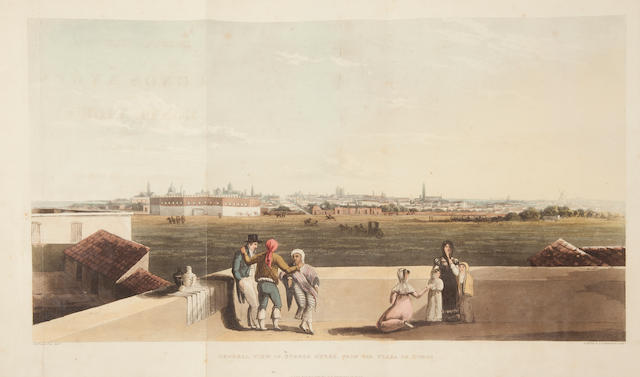 VIDAL, EMERIC.  Picturesque Illustrations of Buenos Ayres and Monte Video.  L: 1820.  Full morocco.