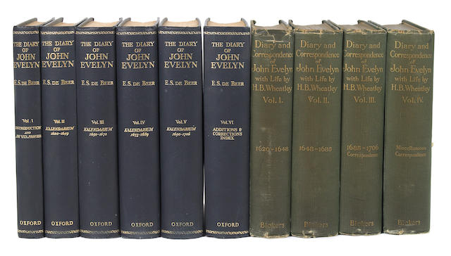 John Evelyn.  16 vols.