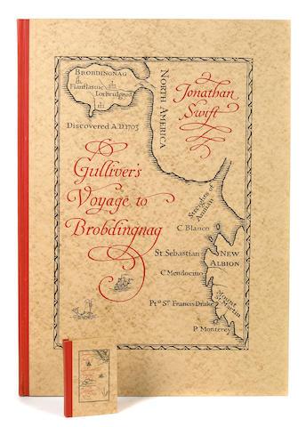 Gulliver's Travels.  Folio.  Slipcase.