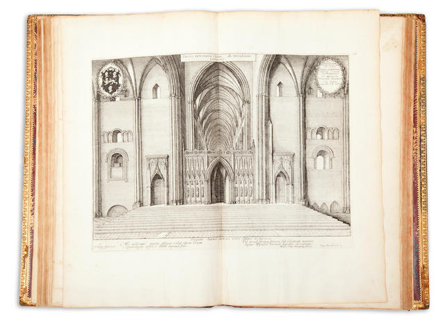 DUGDALE, WILLIAM. 1605-1686. The History of St. Pauls Cathedral in London. London: Thomas Warren, 1658.