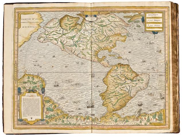 THEVET, ANDRE. 1516-1590. Quarte partie du monde. [Paris: 1575.]