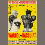 Andy Warhol and Jean-Michel Basquiat; Poster for Warhol/Basquiat Paintings;