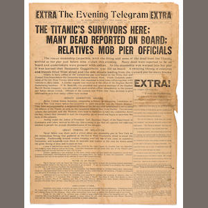 The Evening Telegraph newspaper page
