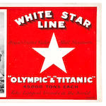 Two <i>R.M.S. Olympic</i> and <i>R.M.S. Titanic</i> brochures