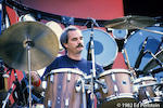 Billy Kreutzmann's 5-piece Sonor drum set and one drum case, used while playing with the Grateful Dead