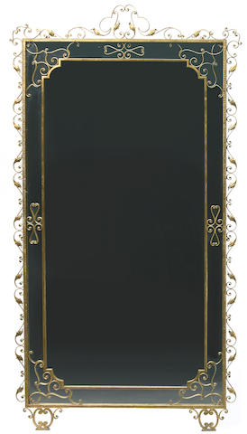 A Pierluigi Colli gilt iron mirror 1940s