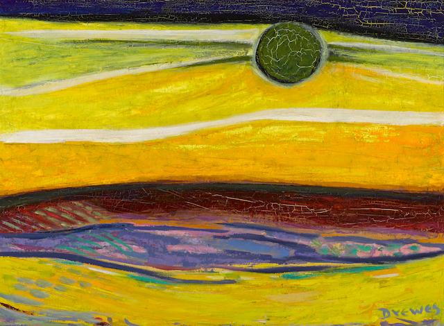 Werner Drewes, Sun, o/c