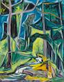 Werner Drewes, Tropical scene, o/c