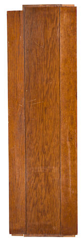 [TITANIC] A mahogany panel from the R.M.S. Titanic   circa 1912 53 x 15-3/4 in. (134.6 x 40 cm.)