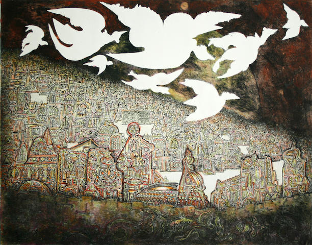 Various Artists; Jerusalem aux 8 Oiseaux; Between Day and Night; (2)
