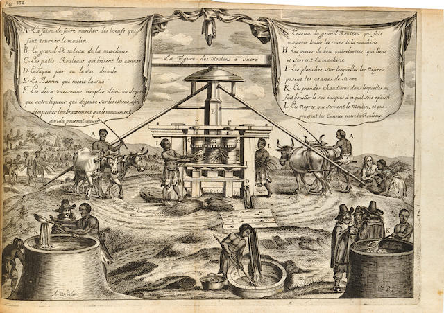 [ROCHEFORT, CHARLES DE. B.1605.] Histoire naturelle et morale des Iles Antilles de l'Amerique. Rotterdam: Arnout Leers, 1665.