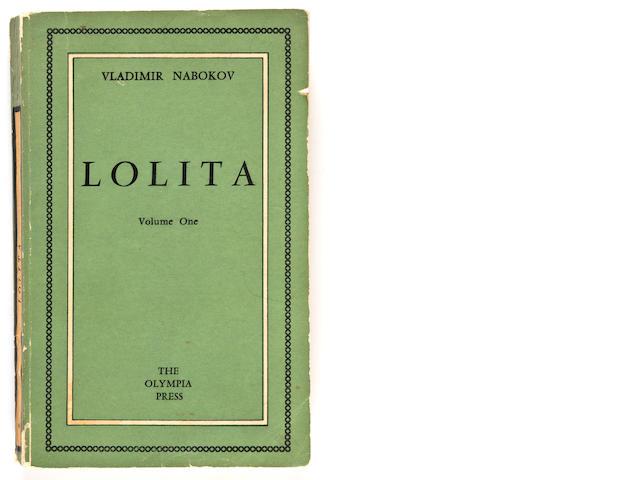 NABAKOV, VLADIMIR.  Lolita, 1955, 2 vols.