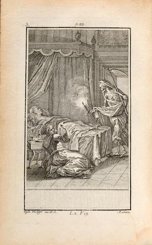 DESBILLONS, F.J., editor. Fabulae Aesopiae. Mannheim: Typis Academicis, 1768.