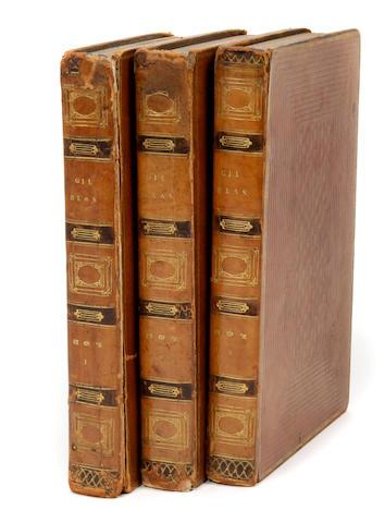 LE SAGE, [ALAIN RENE]. TOBIAS SMOLLETT (TRANSLATOR). The Adventures of Gil Blas de Santillane. London: Printed for Thomas McLean; John Bumpus; [etc], 1819.<BR />