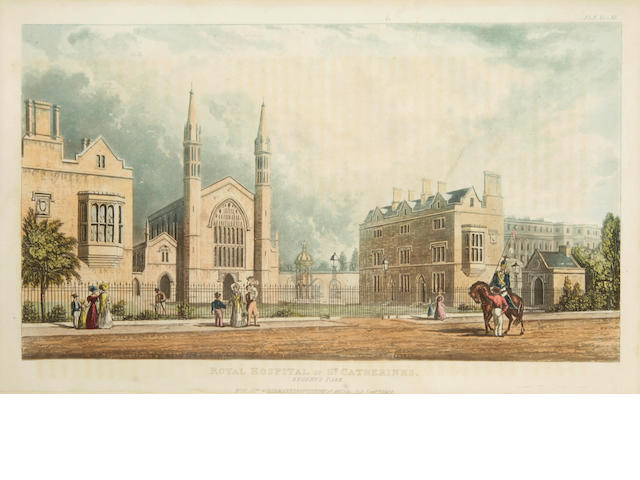 [ACKERMANN, RUDOLPH.] [24 Views of London] London: R. Ackermann, 1816-27.