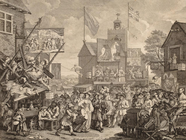 HOGARTH, WILLIAM. 1697-1764. [Southwark Fair. Late 18th or early 19th century.]