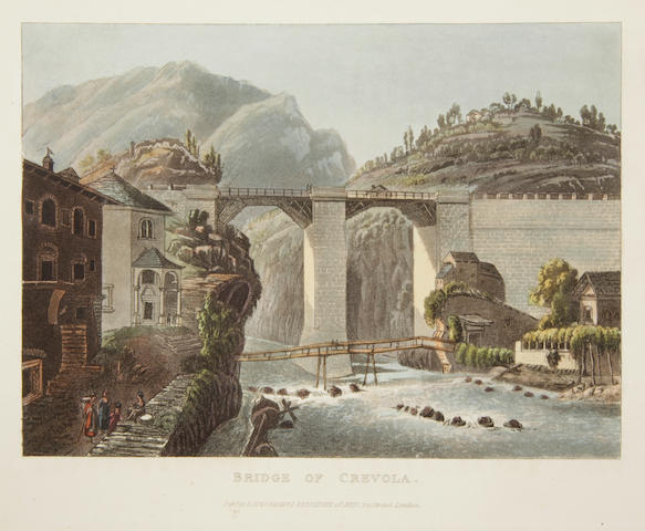 Schorberl, Frederic.  Picturesque Tour from Geneva to Milan. L: 1820