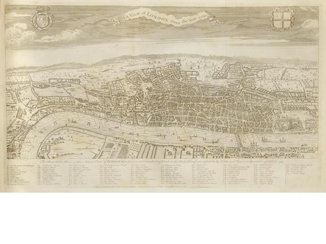 Maitland, William.  The History of London.   L: 1775.  2 vols.  Calf.