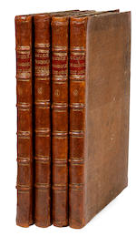 Buchoz, Pierre Joseph.  Decades.   1795.  4 vols.  Large copy.  Plates in 2 states.