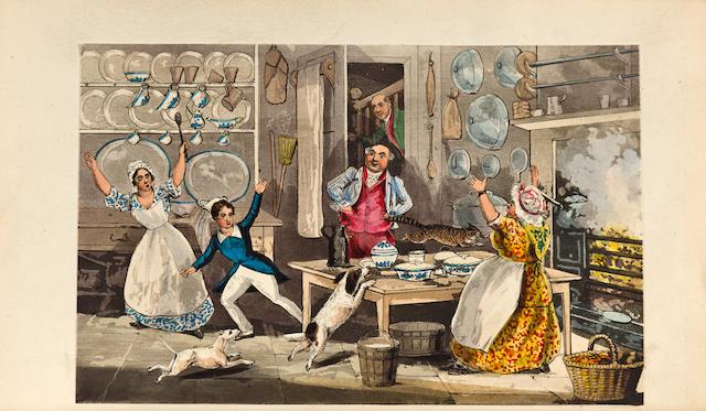 ALKEN, HENRY, illustrator. [APPERLEY, C.J.] The Life of a Sportsman. By Nimrod. London: Rudolph Ackermann, 1842.
