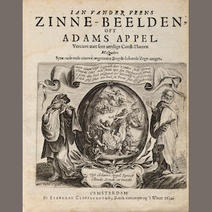 Veen.  Zinne-belden oft Adams Appel.