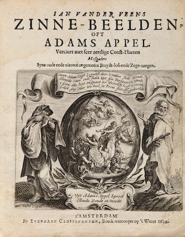 Veen.  Zinne-belden oft Adams Appel.