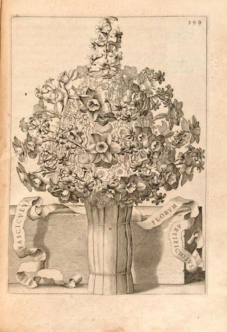 FERRARI, GIOVANNI BATTISTA. 1584-1655. Flora, overo cultura di fiori. Rome: Pier'Antonio Facciotti, 1638.
