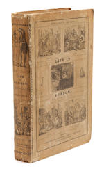 EGAN, PIERCE.   Life in London; or, the Day and Night Scenes of Jerry Hawthorn, Esq. And his Elegant Friend Corinthian Tom.... London: Sherwood, Neely, and Jones, 1821.<BR />