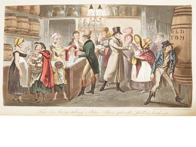 EGAN, PIERCE.   Life in London.... London: Sherwood, Neely, and Jones, 1821.<BR />