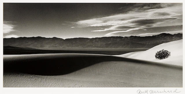 Ruth Bernhard (American, 1905-2006); Death Valley;