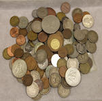 A large collection of miscellaneous coins and currency