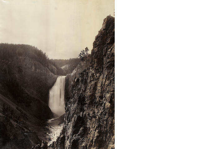 Frank Jay Haynes (American, 1853-1921); Great Falls of the Yosemite, 360 Feet; (1)