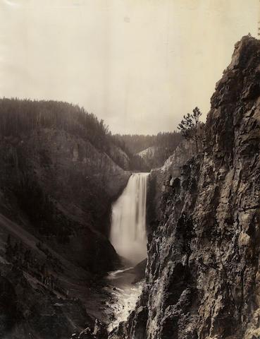 Frank Jay Haynes (American, 1853-1921); Great Falls of the Yosemite, 360 Feet; (1)